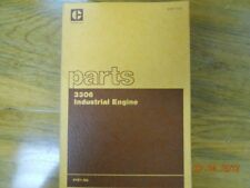 Caterpillar parts book for 3306 industrial engine 64Z1-UP