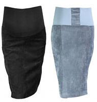 Maternity pencil skirt Cord Skirt Over Bump size UK 6 8 10 12 14 16 18