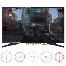 2 Size FastScope No Scope TV Decal for FPS Games PC for PS3 Xbox One