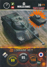 Panini World of Tanks trading cards nº 39-Nom: Lorraine 40 T