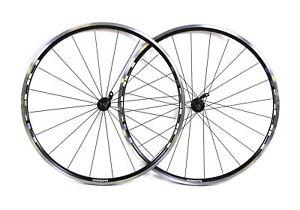Shimano R500 Road Bike Wheelset Clincher 10 Speed Rim Brake Aluminum Black