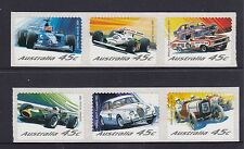 2002 Australia Motor Racing Australia Stamp Set of 6 SA (AU2157a)