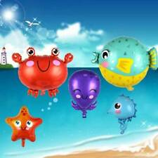 Cartoon Marine Animal Theme Foil Balloons Baby Shower Birthday Party Decor ZPP
