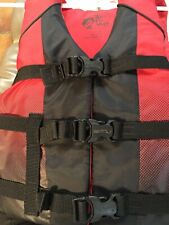 Child Youth 50-90 Lb Red&Black-Buckle Water Life Jacket Vest Bass Pro Shops.