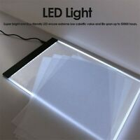 A4 DIY 5D Diamond Painting LED Light Board Table Pad Ultrathin 3.5mm Drawing Pad