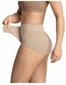 Leonisa Adjustable Postpartum Panty Beige Medium Power Slim