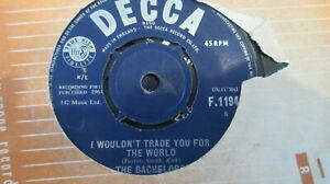 """The Bachelors I Wouldn't Trade You For the World 7"""" 1964 **VG+**"""
