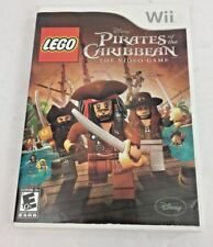 LEGO Pirates of the Caribbean: The Video Game (Nintendo Wii, 2011) Complete