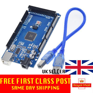 Arduino Mega2560 R3 Compatible Board with CH340G UK Stock Mega 2560 !!Tested!!