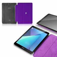 Poetic Slimline Purple Case【Smooth PU leather】For Samsung Galaxy Tab S3 9.7