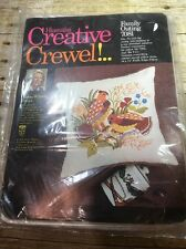 "Creative Crewel Family Outing 7081 Sealed New 14"" X 14"""