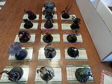 Dungeons and Dragons Miniatures SAVAGE ENCOUNTERS LARGE MINI SET- D&D/Pathfinder