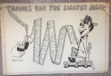 ORIGINAL ART 1950s PARAMOUNT PICTURES OWNED BY JERRY LEWIS