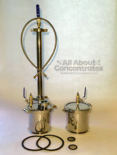 """6"""" Sanitary Stainless Steel 304 90g-135g Closed Loop Extractor Recovery tank"""