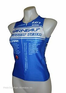 new great for training women's Louis Garneau Delfino tri Top triathlon XS S M XL