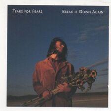 Tears For Fears Break it Down Again 1993 CD 4 Track EP Bloodletting Go