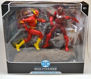 """McFarlane DC Multiverse Earth 52 Flash and Red Death Batman Action Figures 7"""""""