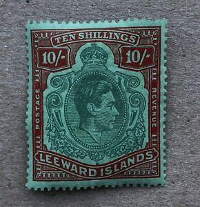 Leeward Islands King George VI 10 shillings