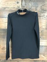 Under Armour Women's Long Sleeve Mock Neck Fitted Athletic Shirt Size S
