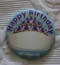 Disney Birthday Disney Pins & Buttons (1968-Now)