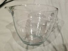 Pampered Chef 2 Quart 8 Cup Glass Measuring Cup Mixing Batter Bowl