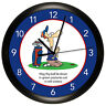 FUNNY GOLF WALL CLOCK PERSONALIZED GIFT GOLFER PRAYER HUMOR DAD GOLFING