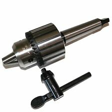 "3/4"" Heavy Duty Drill Chuck 4MT Shank in  Prime Quality MT4 Drill Chuck Keyed"