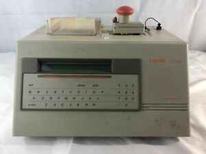 Lumat LB 9501 Single Tube Luminometer Injector Printer NOT TESTED