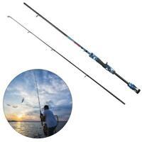 Portable Travel Carbon Fiber Telescopic Fishing Rod Stick Sea Spinning Pole