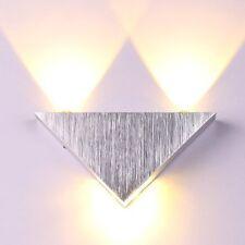 Aluminum Modern Wall Sconce Triangle Designed 3W Led Warm White