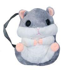 Kawaii Grey Hamster Plush Backpack Bag Cute Japan Korohamu  Jfashion Cosplay