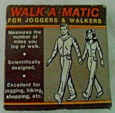 Vintage 1985 Chadwick Miller Inc Walk A Matic For Joggers & Walkers Pedometer