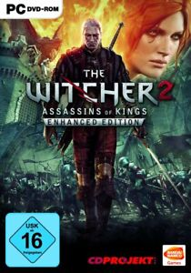 The Witcher 2: Assassins of Kings Enhanced Edition (PC, 2015, DVD-Box) NEUWARE