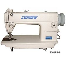 Consew 7360Rb-2 Large Bobbin Industrial Lockstitch Sewing Machine - Complete Set