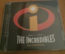 The Incredibles 1 - Soundtrack Cd - Disney Pixar - 2005