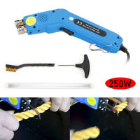 250W Handheld Electric Hot Knife Foam Styrofoam Heating Cutter+Blades+Carry Case