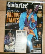 Guitar Techniques magazine #327 Nov '21  Play like the Groove Giant + Lesson CD