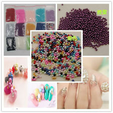 Wholesale 1000-10000pcs 2mm/4mm No Hole  Round Acrylic Beads DIY Full Color