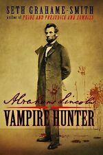 Abraham Lincoln Vampire Hunter - HC w/DJ 1st PRINT 2010 NEAR MINT