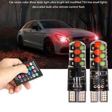 T10 Car Lights LED Bulbs Led Lamp Interior Reading Light Remote Control Strobe