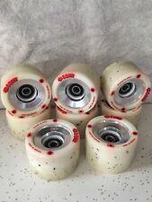 Atom roller skate wheels ☆BOOM☆ White