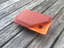 Kydex Wallet With Money Clip Carbon Fiber/red