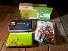 Nintendo 3DS XL - Yoshi Special Edition [Discontinued] w/case, SD, and Meteos DS