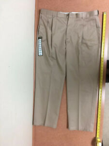 Haggar Clothing Classic Fit Work To Weekend Khaki Pants No Iron 38 X 29 $55
