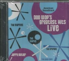 DOO WOP'S GREATEST HITS LIVE - CD - American Soundtrack - BRAND NEW