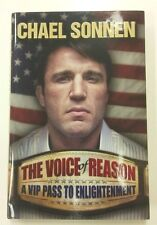 The Voice of Reason, New Hardcover Book Autographed by Chael Sonnen