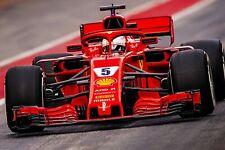 Ferrari F1 Formula One Automotive Car Wall Art Giclee Canvas Print Photo (220)
