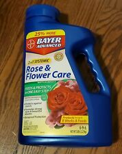 2 In 1 Systemic Rose & Flower Care Feeds and Protects Plants From Insects 5 Lbs