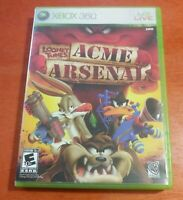Looney Tunes Acme Arsenal Microsoft Xbox 360 WB Games Warner Bros. Redtribe