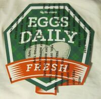 Nutrena Feed Metal Chicken Sign EGGS DAILY FRESH New Free Shipping Charity